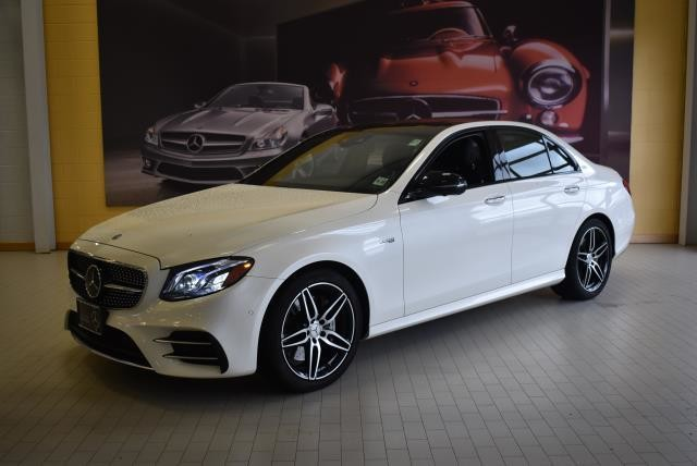 certified pre-owned 2018 mercedes-benz e-class amg® e 43 sedan sedan