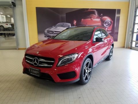Certified Pre-Owned 2017 Mercedes-Benz GLA GLA 250 Sport AWD 4MATIC®