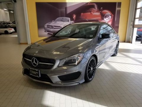 Certified Pre-Owned 2016 Mercedes-Benz CLA CLA 250 Sport AWD 4MATIC®