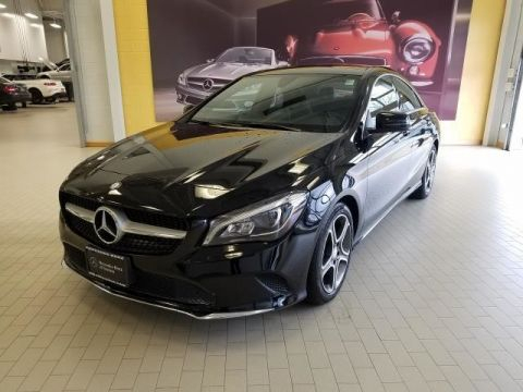 Certified Pre-Owned 2018 Mercedes-Benz CLA CLA 250 AWD 4MATIC®