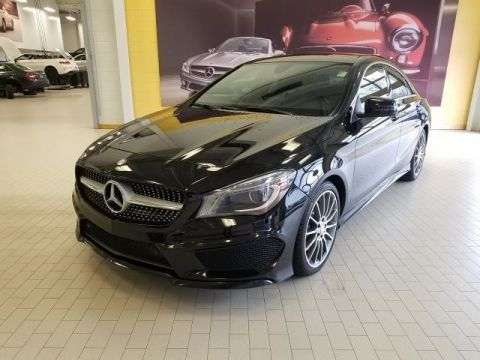 Certified Pre-Owned 2016 Mercedes-Benz CLA CLA 250 AMG® SPORT All Wheel Drive 4MATIC Coupe