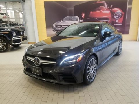 Pre-Owned 2019 Mercedes-Benz C-Class AMG® C 43 Coupe AWD 4MATIC®
