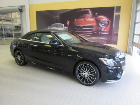 New 2018 Mercedes-Benz C-Class AMG® C 43 Cabriolet AWD 4MATIC®