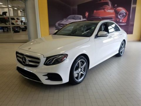 Certified Pre-Owned 2017 Mercedes-Benz E-Class E 300 AWD 4MATIC®