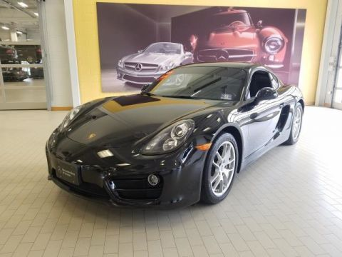 Pre-Owned 2014 Porsche Cayman Rear Wheel Drive Coupe